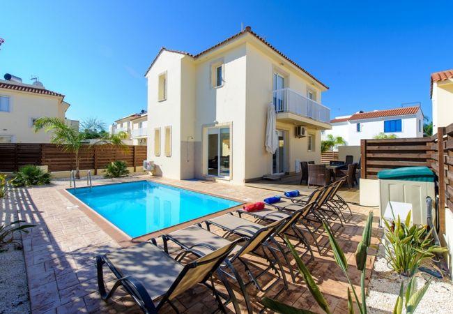 Villa/Dettached house in Protaras - Protaras Villa Nadia Near The Beach