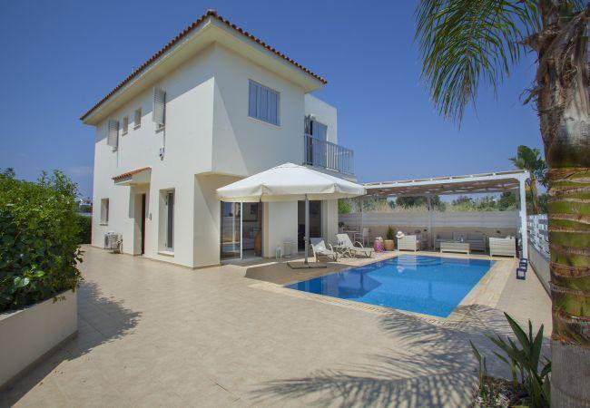 Villa/Dettached house in Protaras - Protaras Villa Posidonas 3 Near The Beach