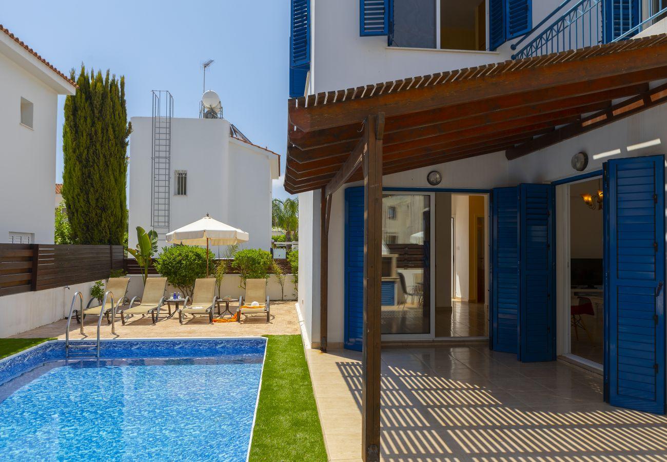 Villa in Protaras - Protaras Villa Kos 8 Near Konnos Beach