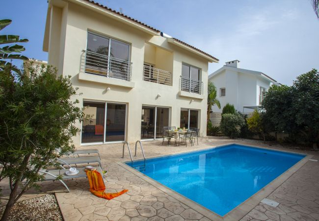 Villa/Dettached house in Protaras - Protaras Villa Cliantha Near Fig Tree Bay Beach