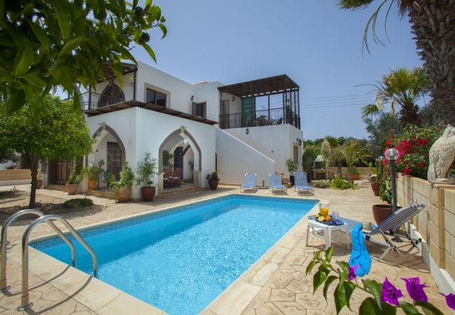 Villa/Dettached house in Protaras - Protaras Villa Euphoria Near To The Beach