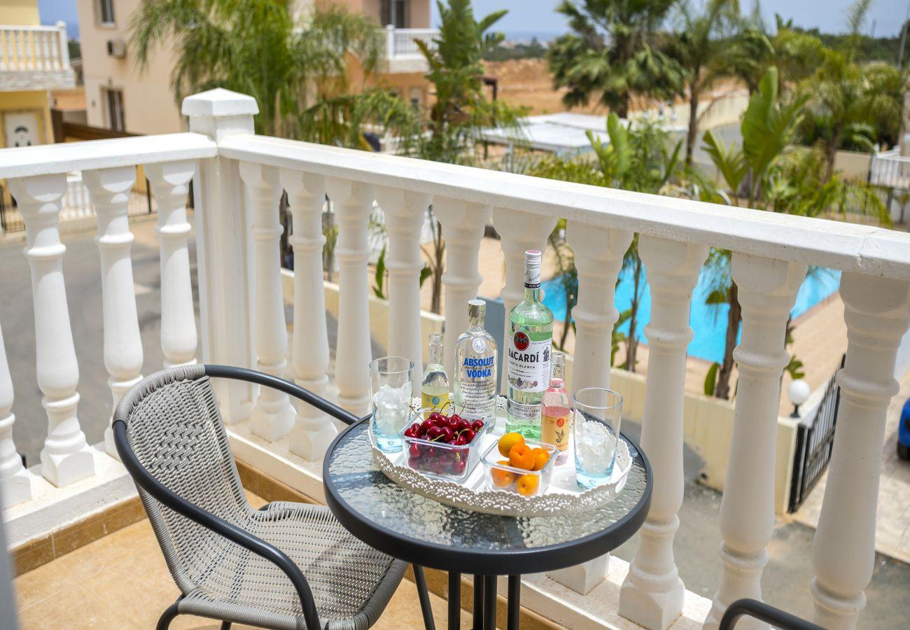 Villa in Protaras - Protaras Villa Lilly Few Min To The Beach