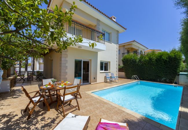 Villa/Dettached house in Protaras - Protaras Villa Lindos 22