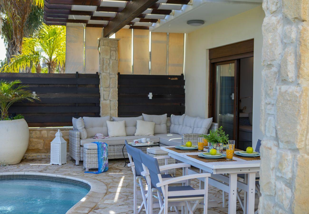 Villa in Protaras - Protaras Seafront Villa El Greco