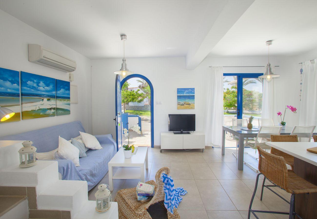 Villa in Protaras - Protaras Villa Nicol 4 Near Sirina Beach
