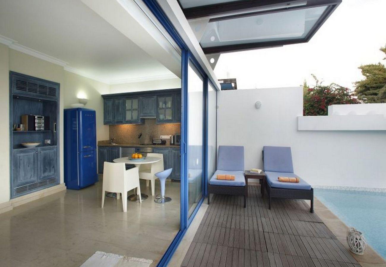 Villa in Protaras - Protaras Villa Mykonos Near Fig Tree Bay Beach