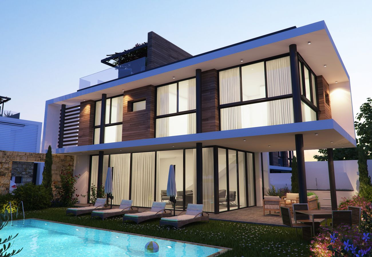 Villa/Dettached house in Paralimni - Elite View Residence A1