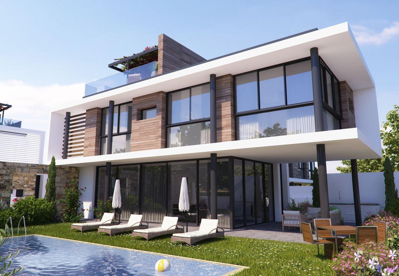 Villa/Dettached house in Paralimni - Elite View Residence F2