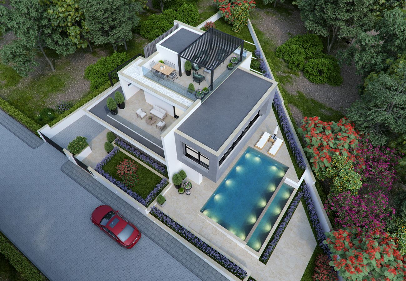 Villa/Dettached house in Paralimni - Panoramic Views Villa H1