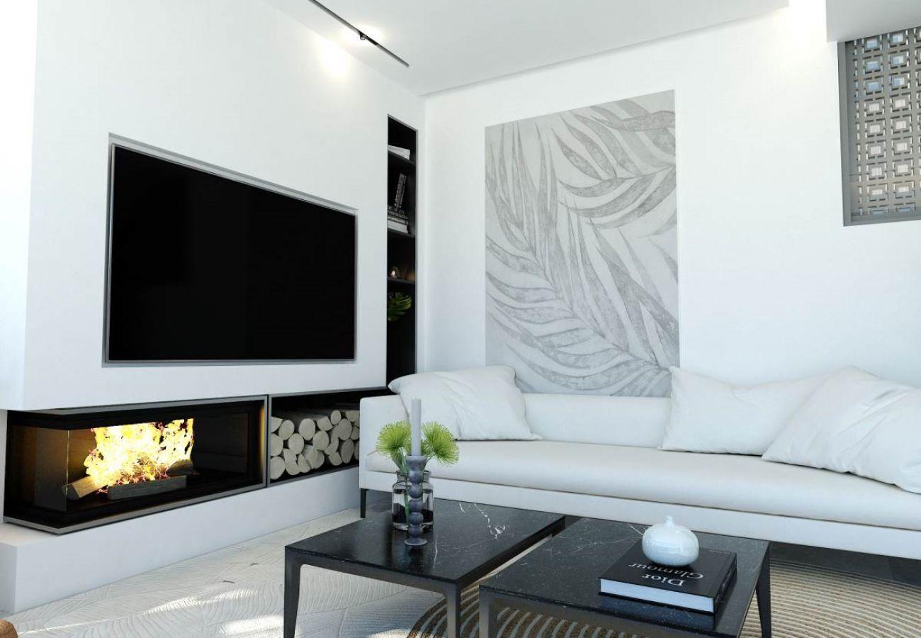 Villa/Dettached house in Paralimni - Malama Seaview Villa B3