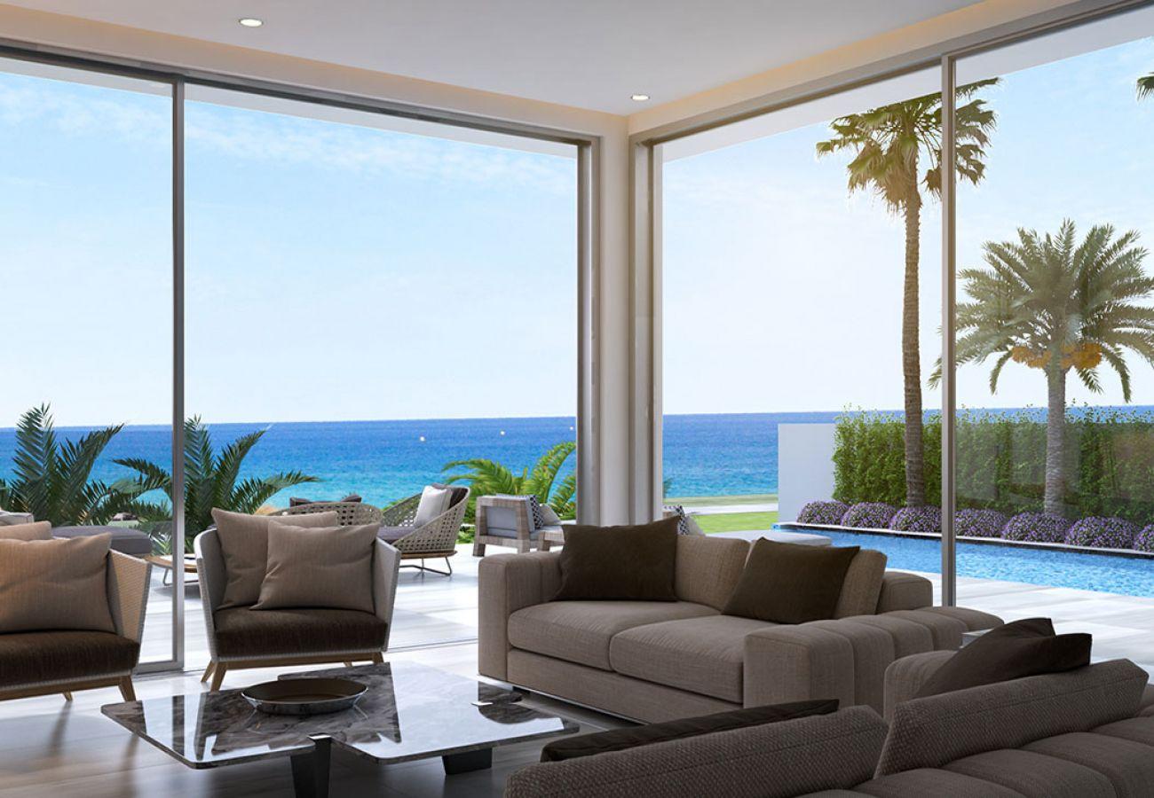 Villa/Dettached house in Protaras - Ayia Triada Seafront Villa