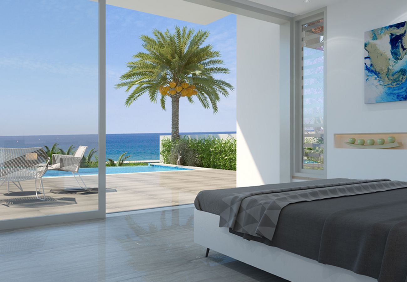 Villa/Dettached house in Paralimni - Ayia Trio Seafront Villa