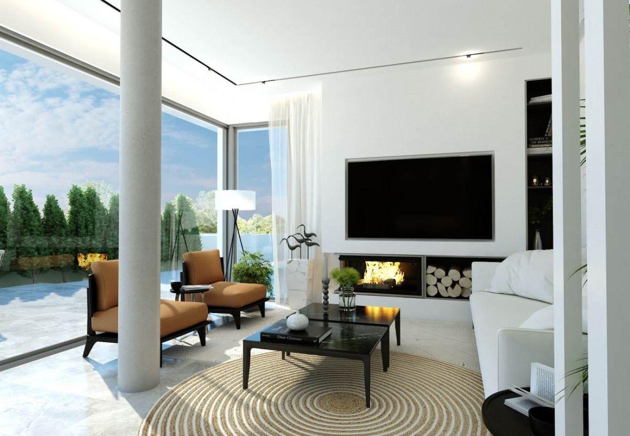 Villa/Dettached house in Paralimni - Malama Seaview Villa A1