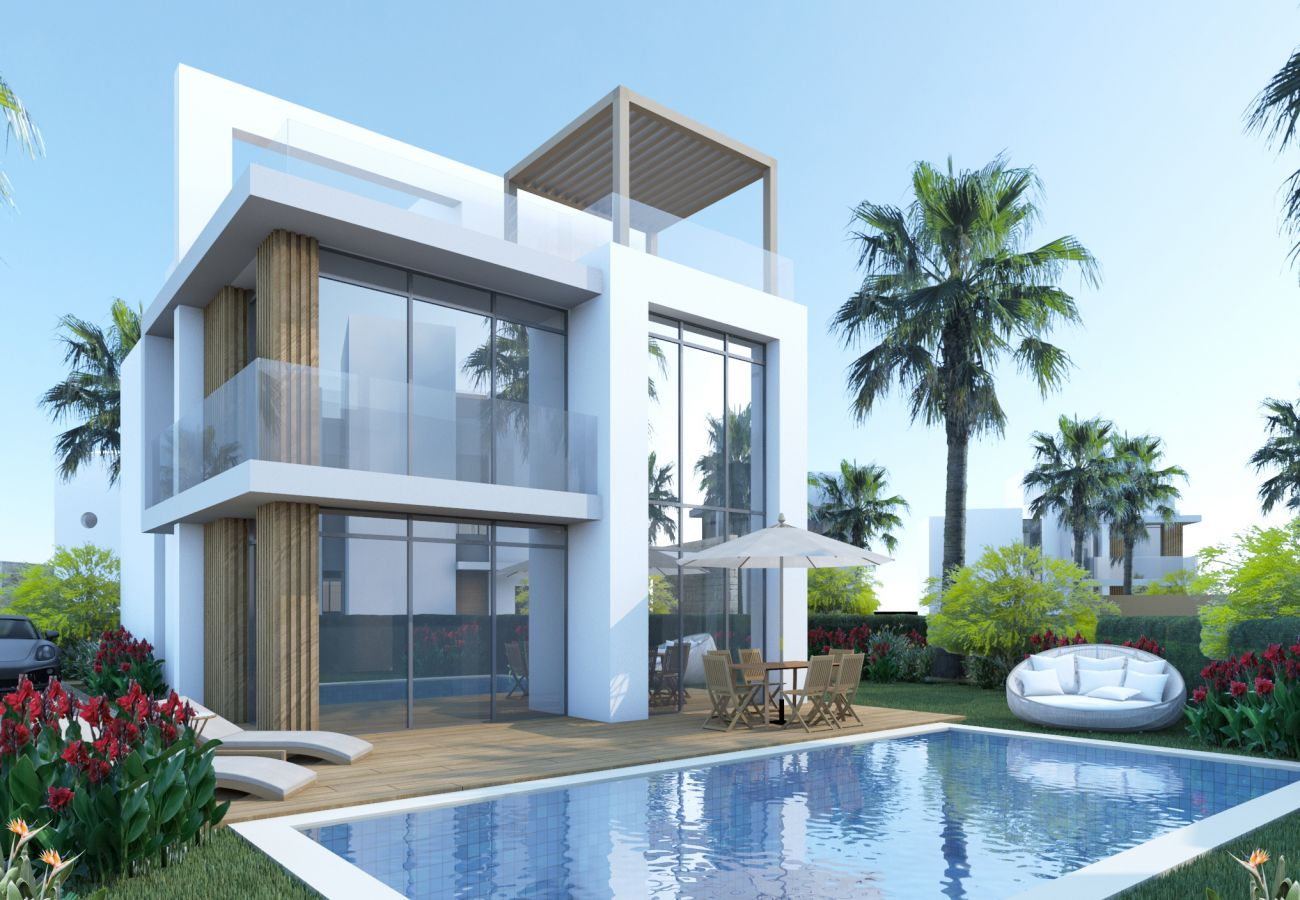 Villa/Dettached house in Paralimni - Kapparis Seaside Residence H3