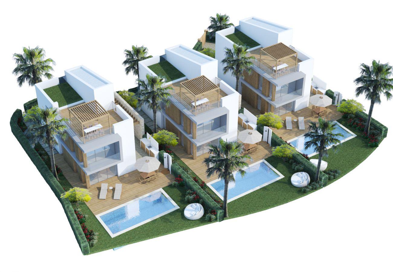Villa/Dettached house in Paralimni - Kapparis Seaside Residence H1